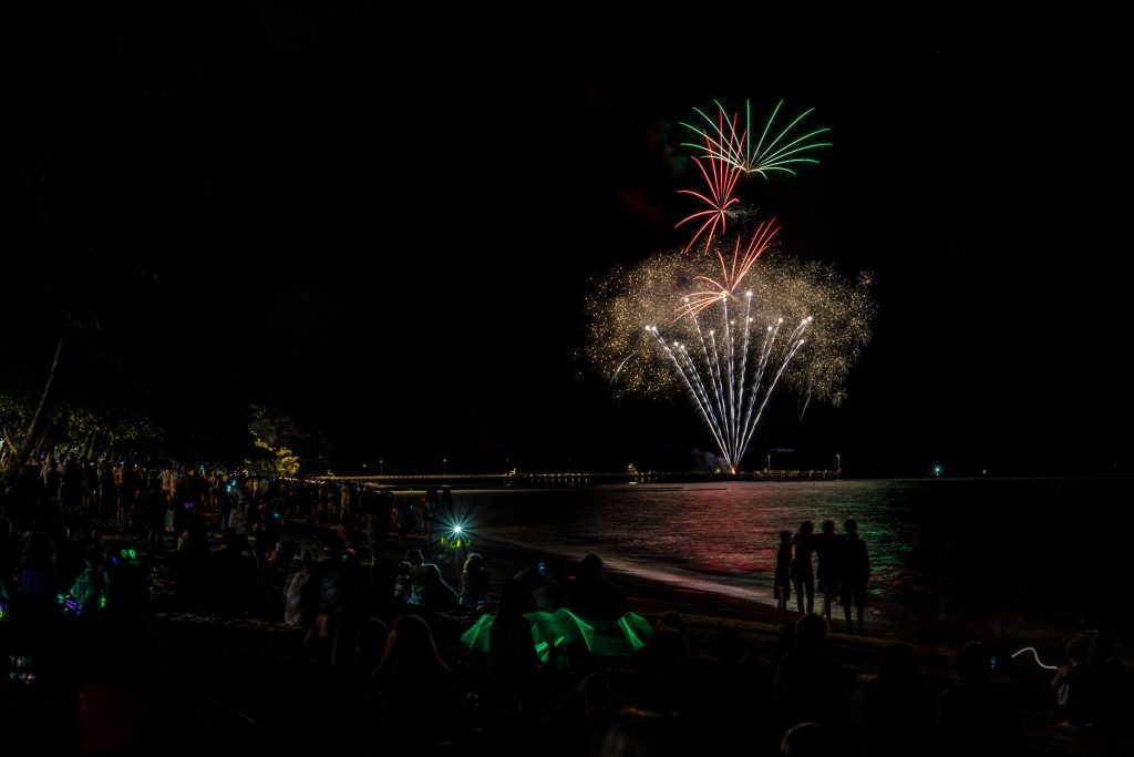 Palm Cove Holiday Unit Fireworks